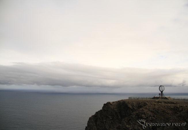 Monumento Nord Kapp Noruega