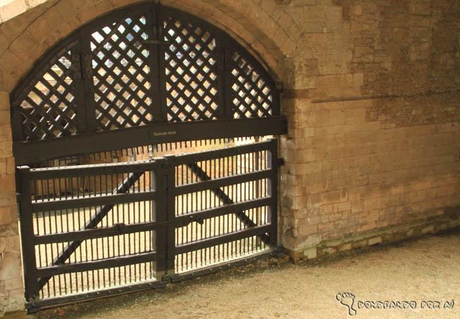 Traitors gate na Torre de Londres