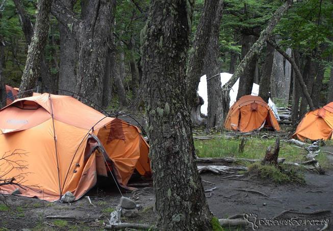 barracas de acampamento