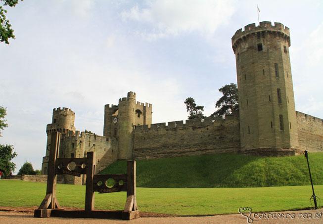 castelo de warwick inglaterra