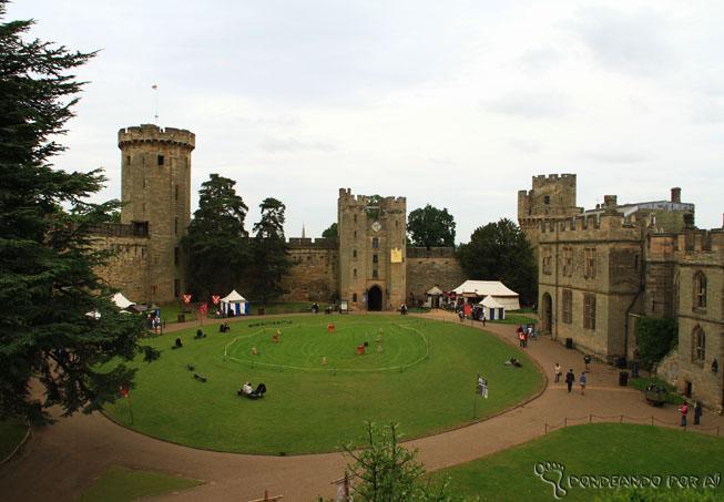 Outra vista do alto do castelo. (Crédito da Foto: Catarina Donda)