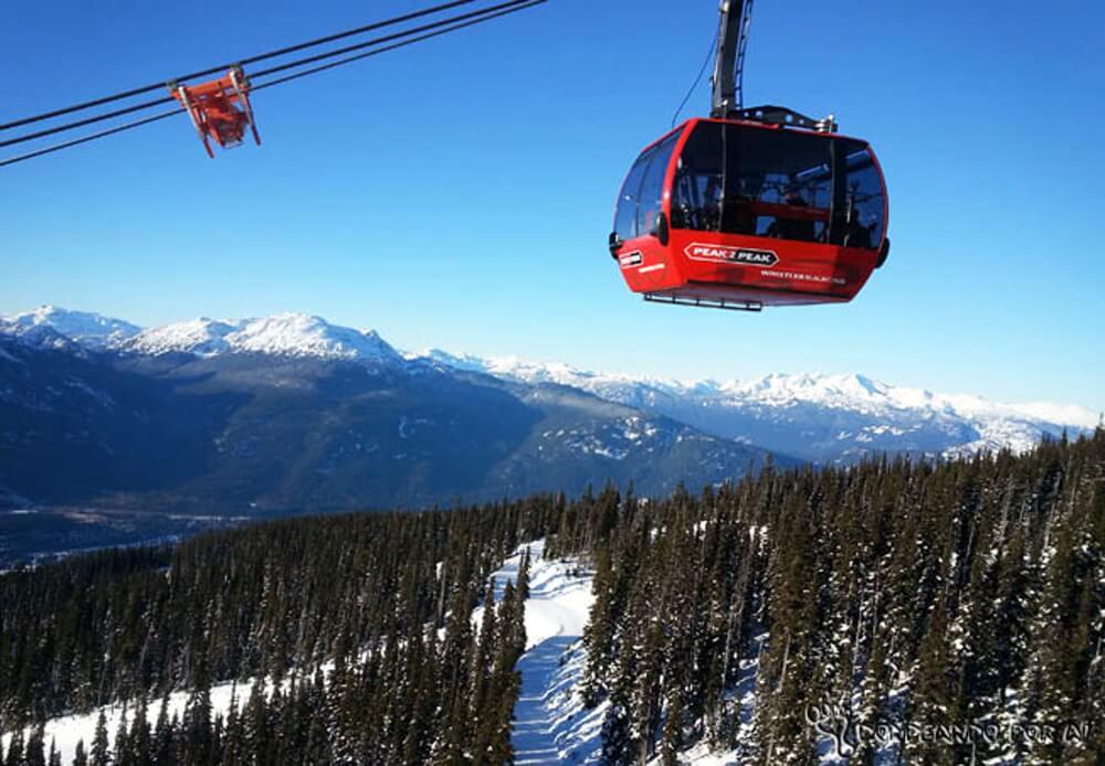 peak to peak canada Whistler