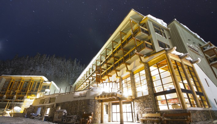 Sunshine Mountain Lodge, o poderoso hotel das Rocky Mountains canadenses