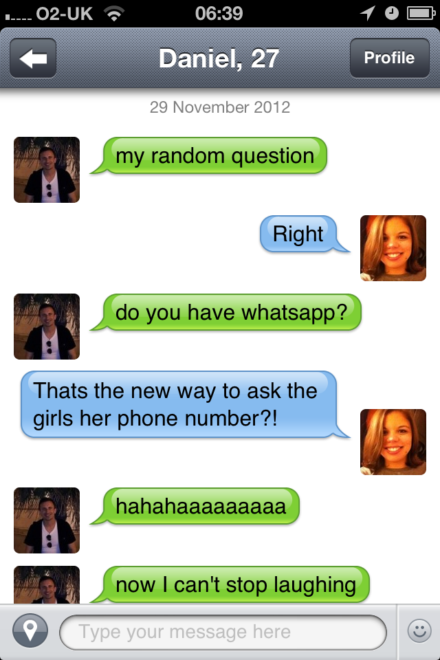 asked whatsapp