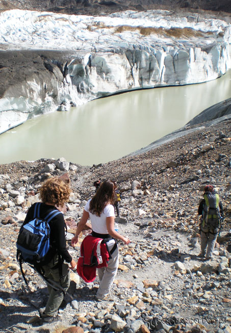 descida glaciar