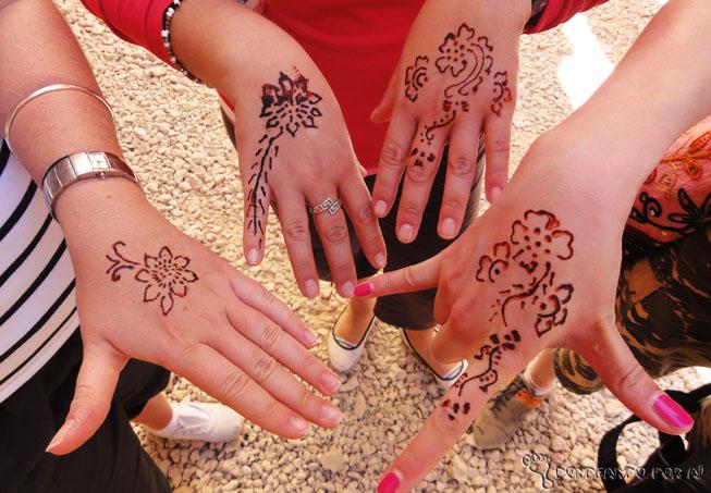 tatuagens de henna egito