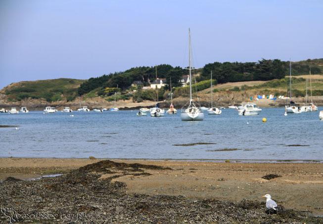 As Marés das praias da Bretanha