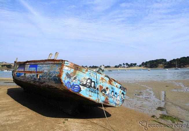 Barcos encalhados