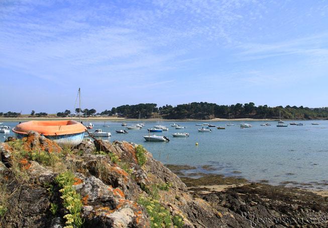 Praias e Marés na Bretanha