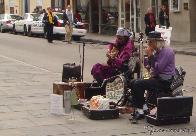 Músicos New Orleans