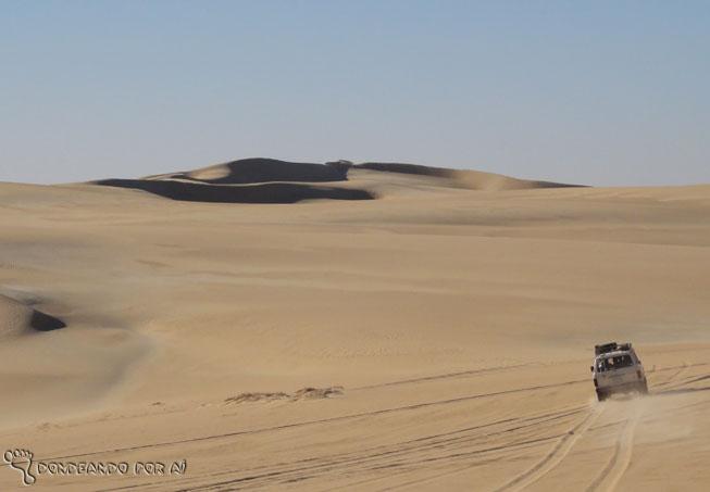 deserto carro 4x4
