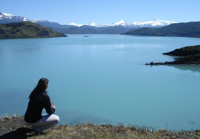 eu no lago pehoe