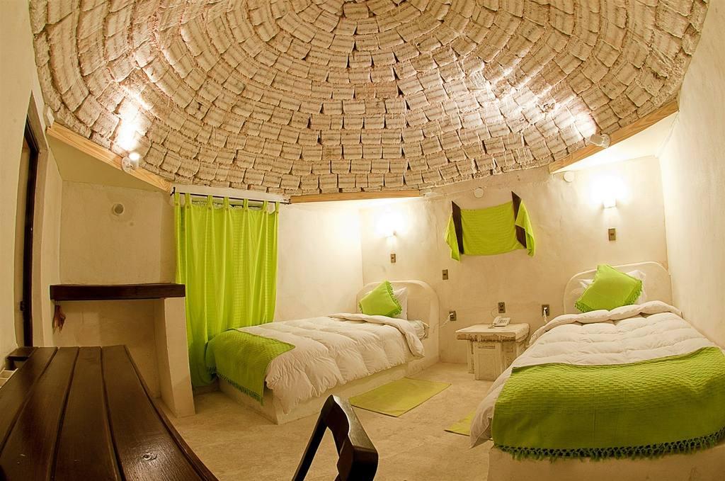 Foto de um dos quartos do Palácio de Sal, que foi inaugurado recentemente e parece bem bacana. Crédito da Foto: Divulgação.
