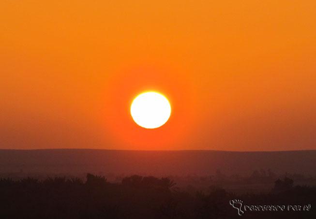 por do sol laranja