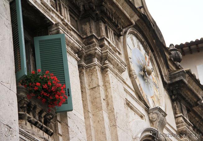Um dos detalhes da cidade de Spoleto!