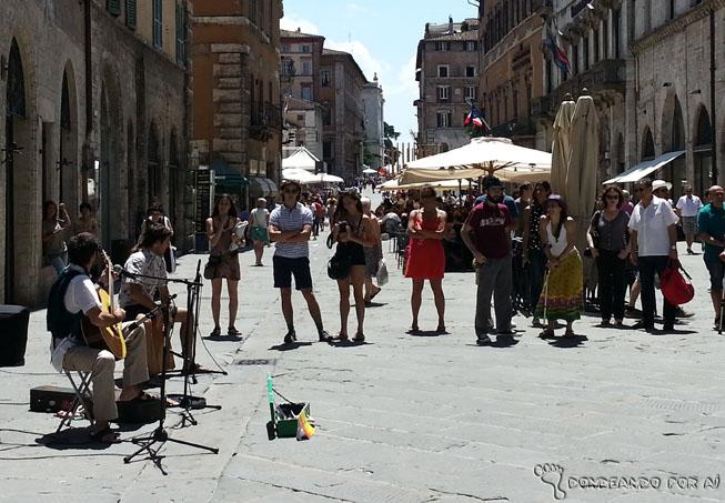 Músicos de Rua Perugia