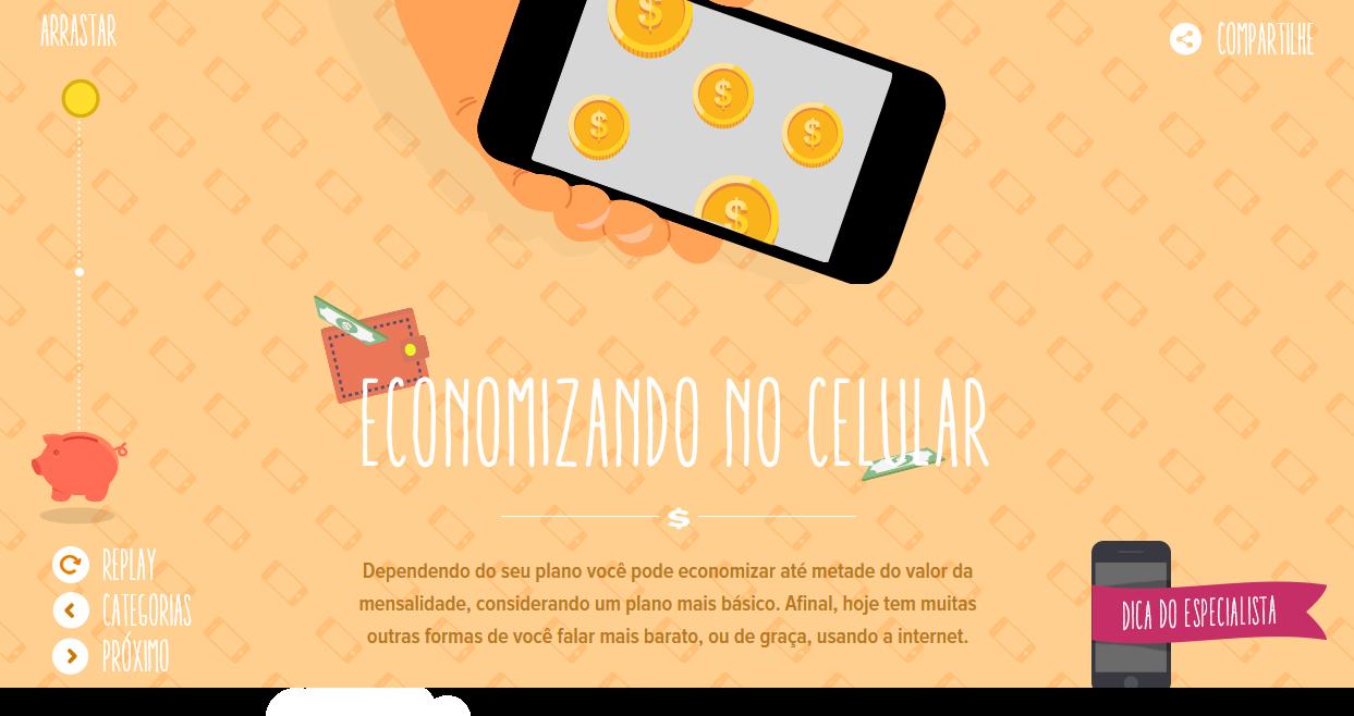 economizando no celular