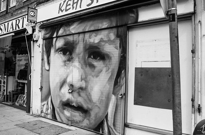 Foto tirada durante o tour - e achei essa street art fantástica!