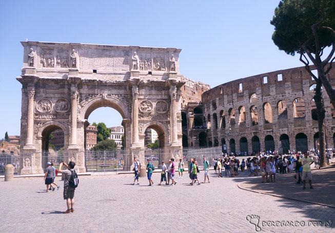 Coliseu e Forum Romano Roma